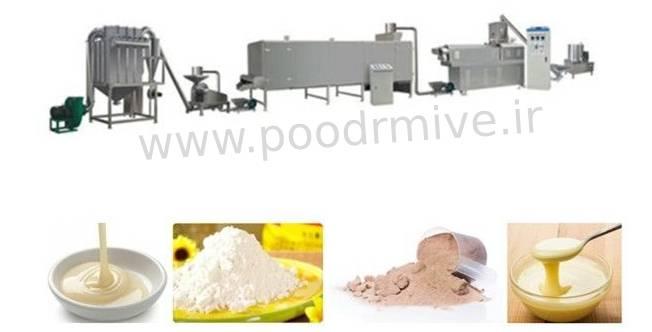 خط تولید پودر میوه خشک مرغوب صادراتی