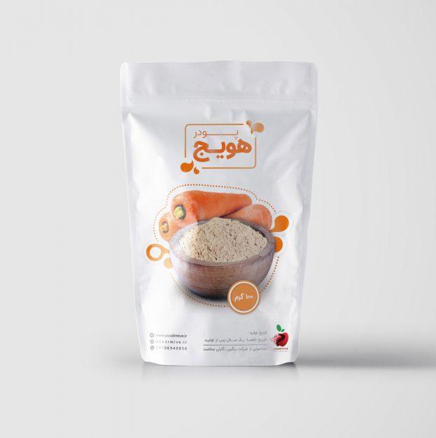 پودر هویج